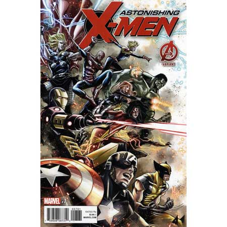Astonishing X-Men #7 Checchetto Variant