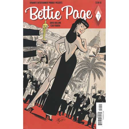 Bettie Page #7 Cover B Chantler