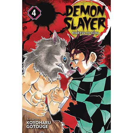 Demon Slayer Kimetsu No Yaiba Vol 4