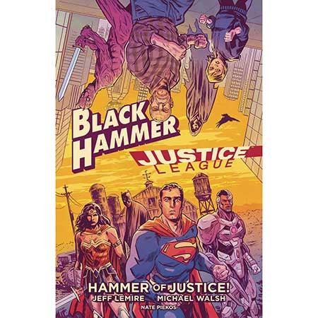 Black Hammer Justice League Hammer Of Justice