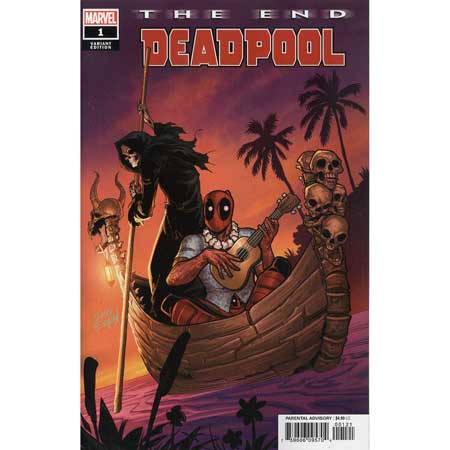 Deadpool The End #1 Espin Variant