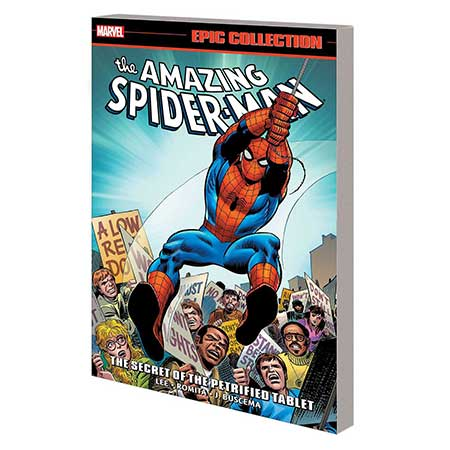 Amazing Spider-Man Epic Collection Secret Of Petrified Tablet