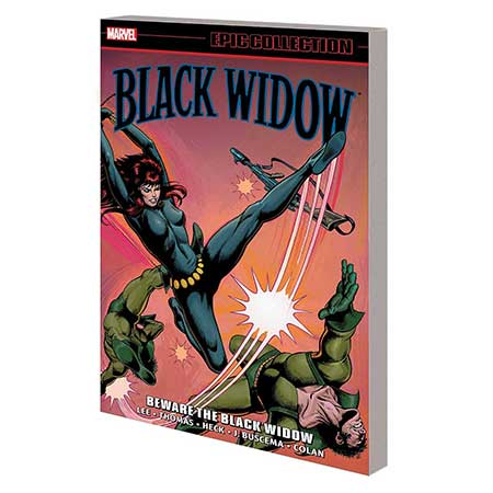 Black Widow Epic Collection Beware Black Widow