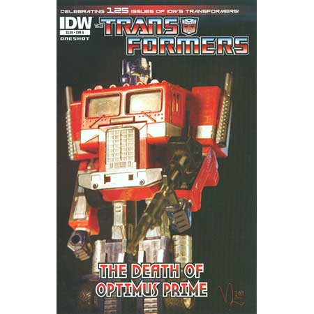 Transformers Death Of Optimus Prime