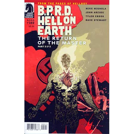 B.P.R.D. Hell On Earth #102 Return Of The Master #5