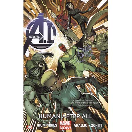 Avengers Ai Vol 1 Human After All