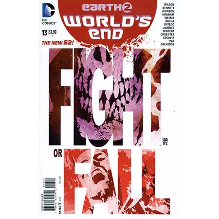 Earth 2 Worlds End #13