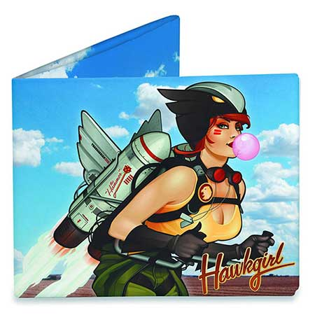 DC Bombshells Hawkgirl Previews Exclusive Mighty Wallet