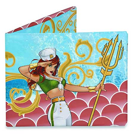 DC Bombshells Mera Previews Exclusive Mighty Wallet