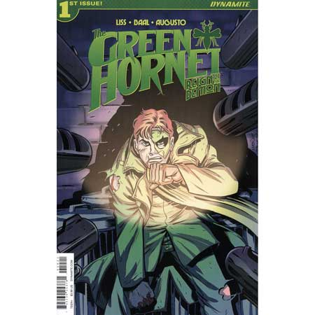 Green Hornet Reign Of Demon #1 Cover B Marques
