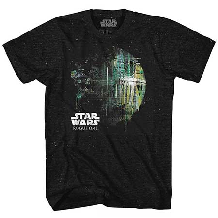 Star Wars Dripping Death Star T-Shirt