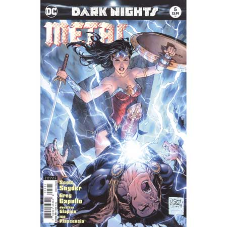 Dark Nights Metal #5 Daniel Variant