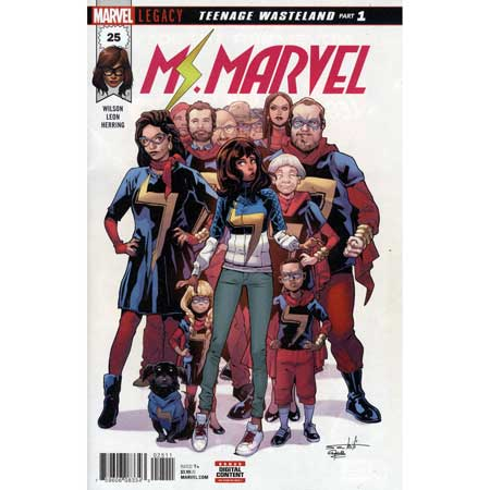 Ms Marvel #25