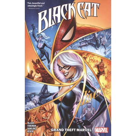 Black Cat Vol 1 Grand Theft Marvel