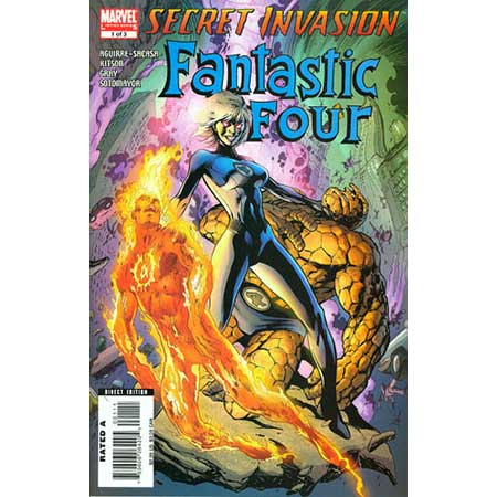 Secret Invasion Fantastic Four #1