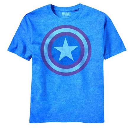 Captain America Dim Shield Blue