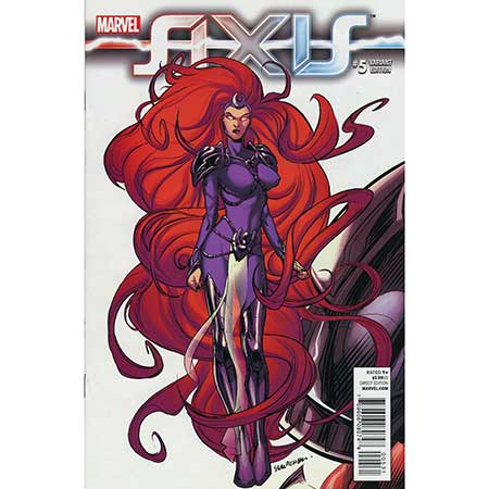 Avengers And X-Men Axis #5 Pichelli 1:50 Variant