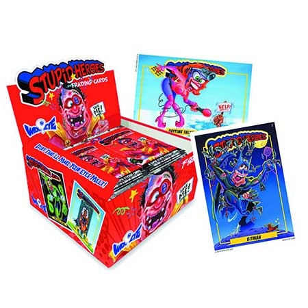 Stupid Heroes Series 1 Trading Cards Pack