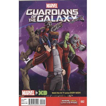 Marvel Universe Guardians Of Galaxy #2