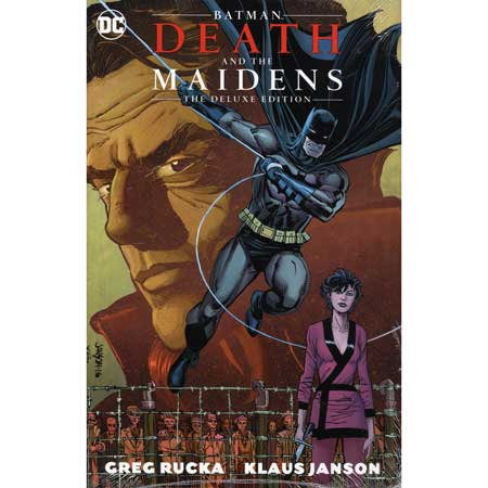 Batman Death And The Maidens Deluxe Edition