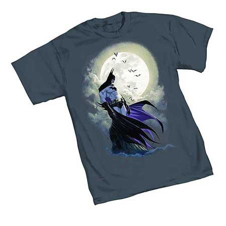 Batman Moon by Turner T-Shirt