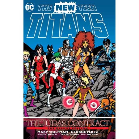 New Teen Titans The Judas Contract Deluxe Edition