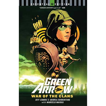 Green Arrow War Of The Clans Essential Edition