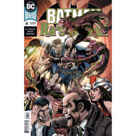 Batman Vs Ras Al Ghul #4