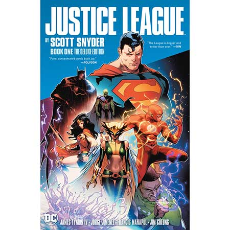 Justice League By Scott Snyder Deluxe Edition Book 1