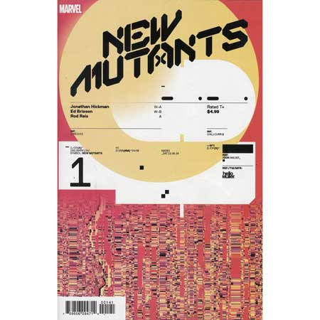 New Mutants #1 Muller 1:10 Variant