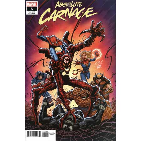 Absolute Carnage #5 Ron Lim Variant