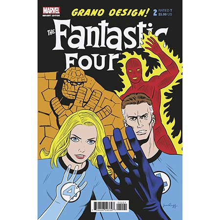 Fantastic Four Grand Design #2 Rugg Variant