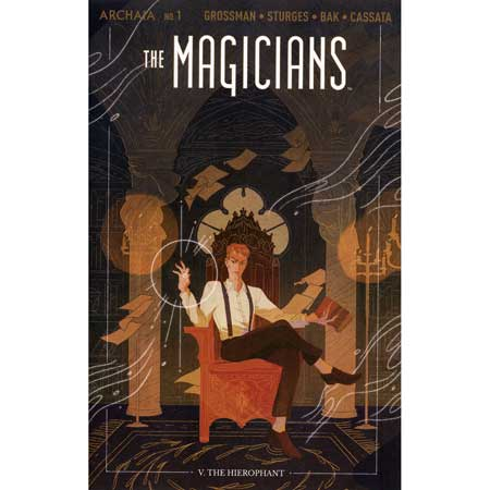 Magicians #1 Cover B Sharpe