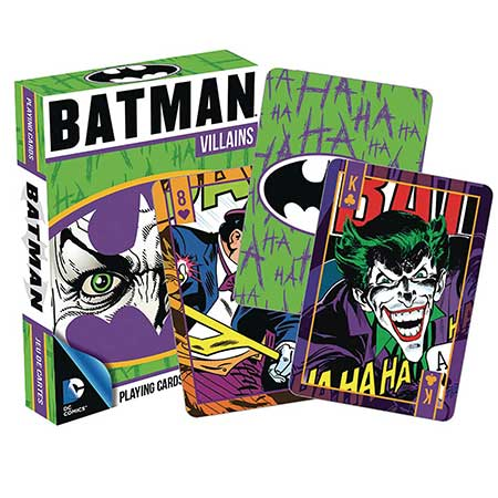 DC Heroes Batman Villains Playing Cards