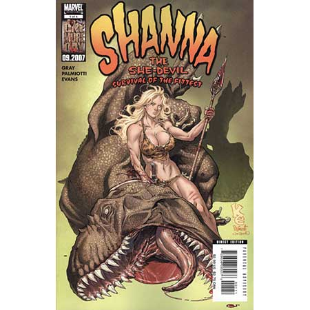 Shanna She-Devil Survival Of Fittest #1