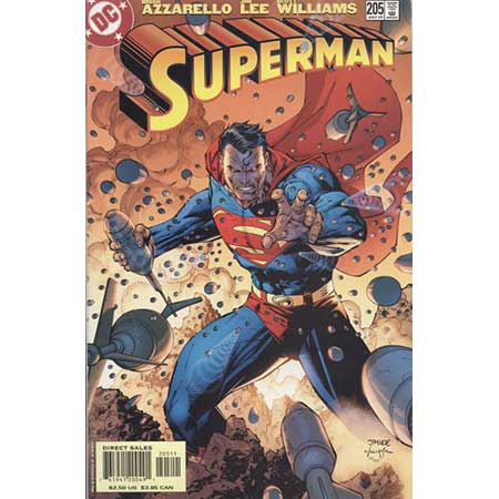 Superman #205 Lee Cover