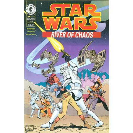 Star Wars: River Of Chaos #1